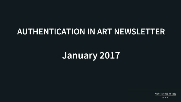 Authentication in Art Newsletter